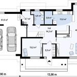 Г. Николаев, частный дом - 297м2